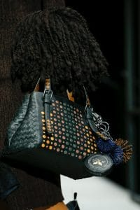 Bottega Veneta Black Embellished Cesta Bag - Fall 2018