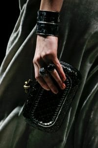 Bottega Veneta Black Embellished Knot Bag - Fall 2018