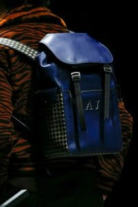 Bottega Veneta Blue Backpack Bag - Fall 2018