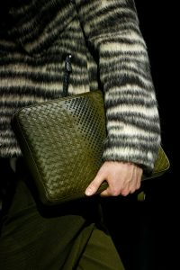 Bottega Veneta Dark Green Clutch Bag - Fall 2018