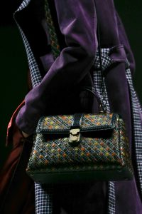 Bottega Veneta Multicolor Intrecciato Piazza Bag 2 - Fall 2018