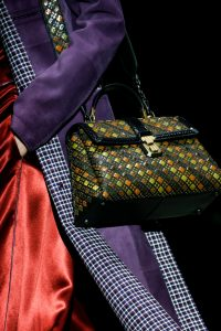 Bottega Veneta Multicolor Intrecciato Piazza Bag - Fall 2018