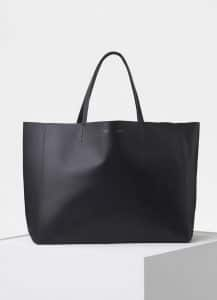 Celine Black Horizontal Cabas Bag