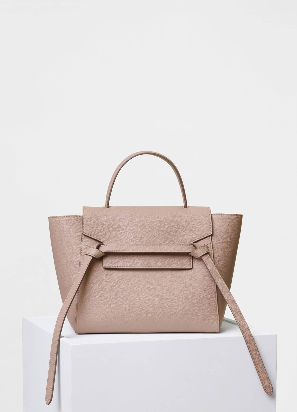Celine Mini Belt Bag In Light Taupe Grained Calfskin.CELINE Grained ... 0a1a7e5c01022