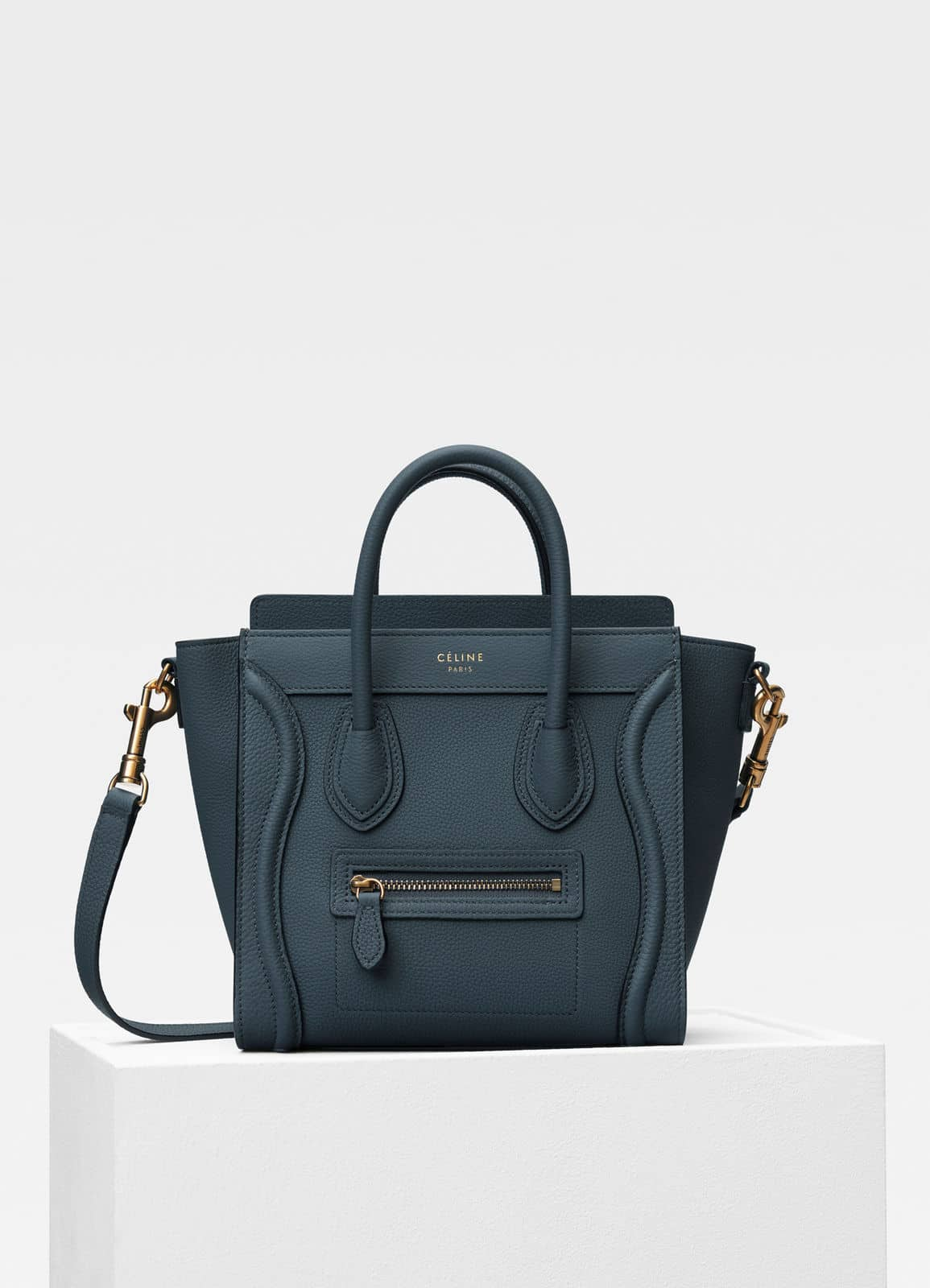 71d1f378266cb5 REVIEW] Céline Luggage Nano in Slate from Marble Factory via TS ...