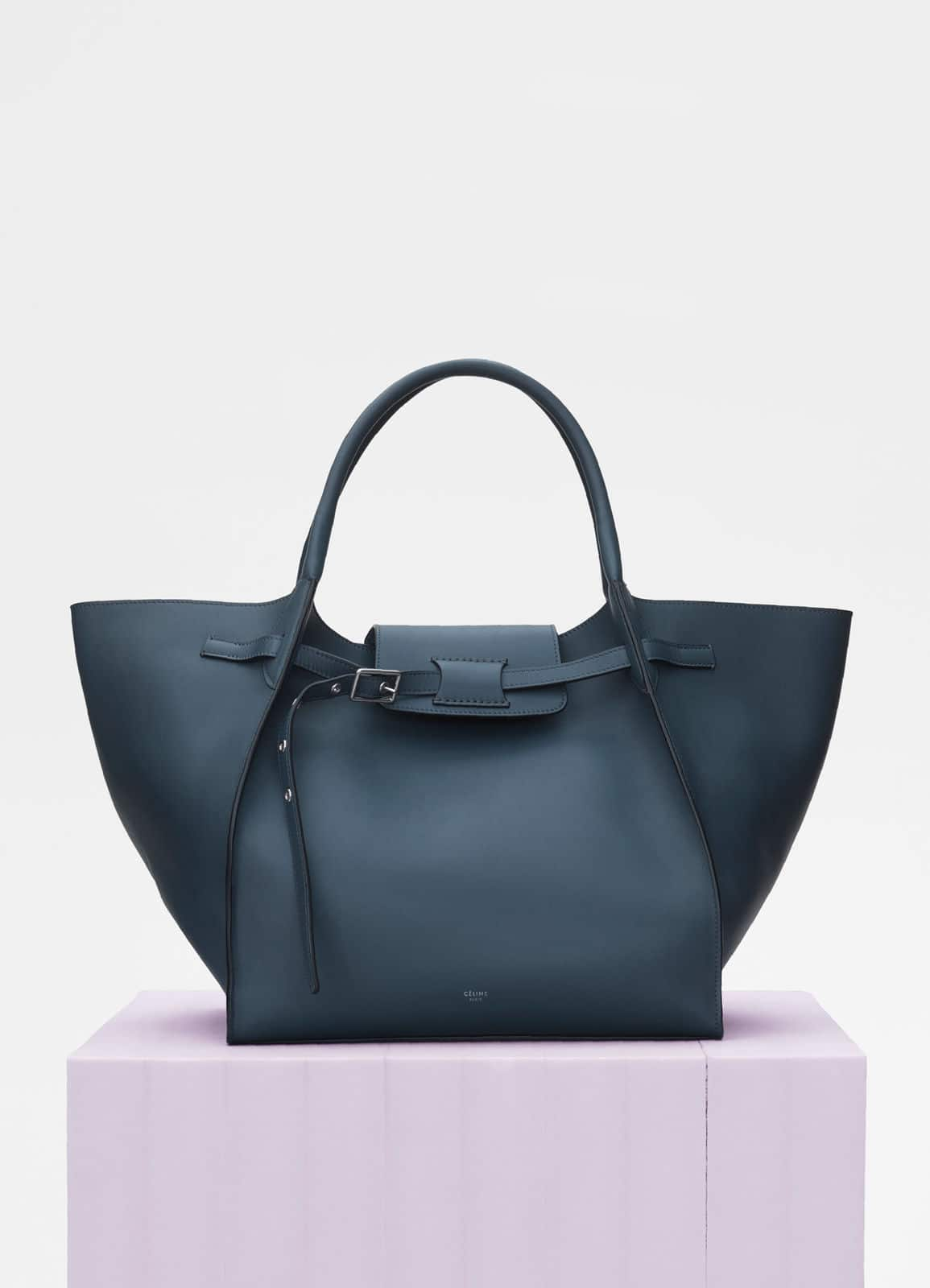 Celine Slate Smooth Calfskin Medium Bag