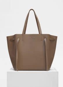 Celine Taupe Small Cabas Phantom Bag