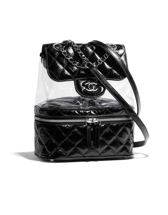 3f705134894b Chanel Spring/Summer 2018 Act 2 Bag Collection Features PVC Bags | Spotted  Fashion