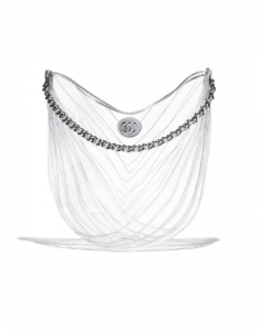 Chanel Transparent PVC Droplet Hobo Bag