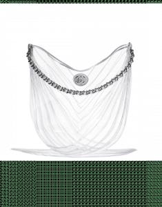 Chanel Transparent PVC Droplet Hobo Bag