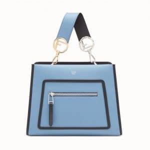 Fendi Blue Runaway Small Bag