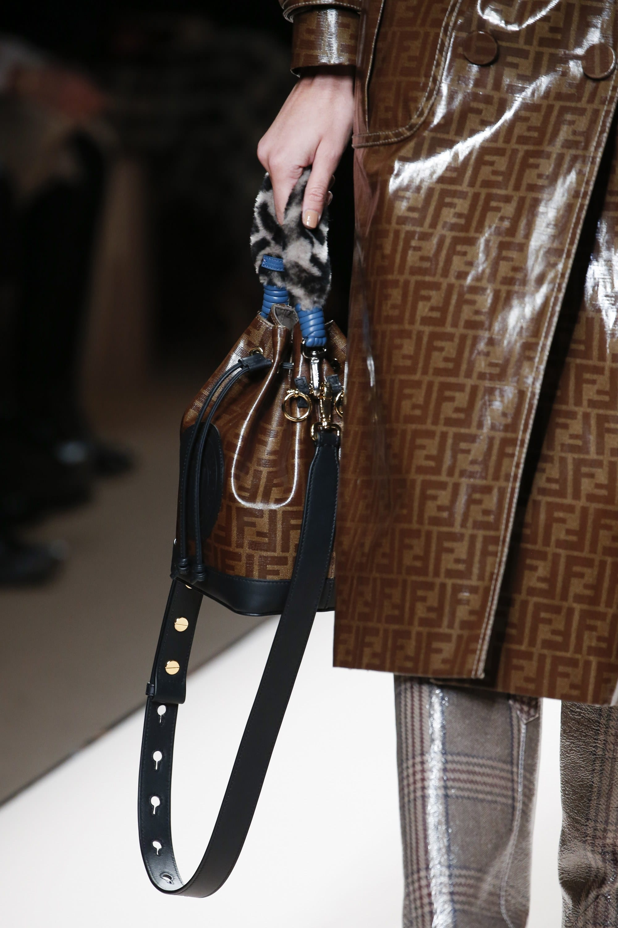 9efc85334ed Fendi Fall Winter 2018 Runway Bag Collection and FILA    Spotted Fashion