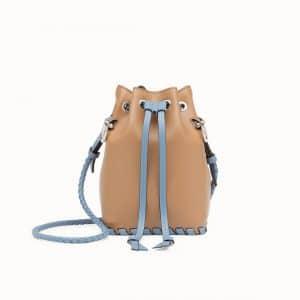 Fendi Brown Mon Tresor Bucket Bag