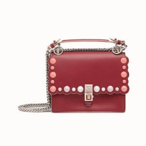 Fendi Red Small Kan I Bag