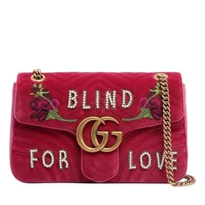 Gucci Medium GG Marmont Shoulder Bag