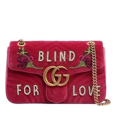 Gucci Medium GG Marmont Shoulder Bag
