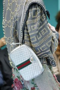 Gucci Silver Camera Bag - Fall 2018