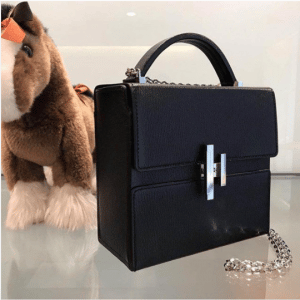 Hermes Black Cinhetic Bag 2