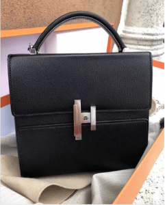 Hermes Black Cinhetic Bag