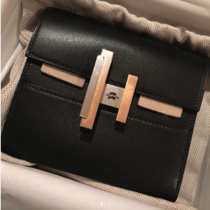 Hermes Black Mini Cinhetic Clutch Bag 3