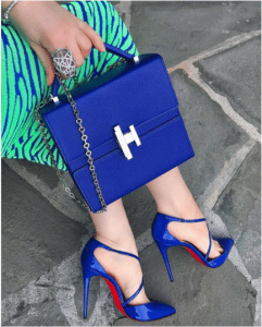 Hermes Bleu Electrique Cinhetic Bag 2