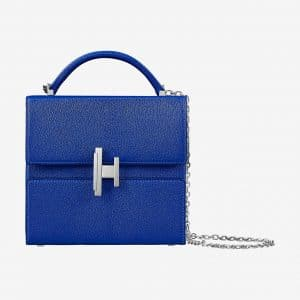 Hermes Bleu Electrique Cinhetic Verso Bag