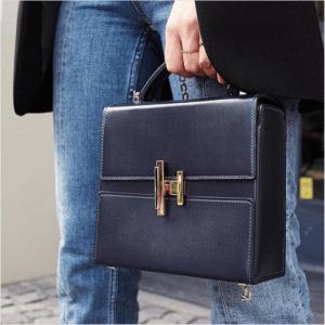 Hermes Bleu Nuit Cinhetic Bag