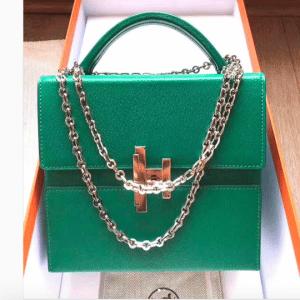 Hermes Vert Vertigo Cinhetic Bag