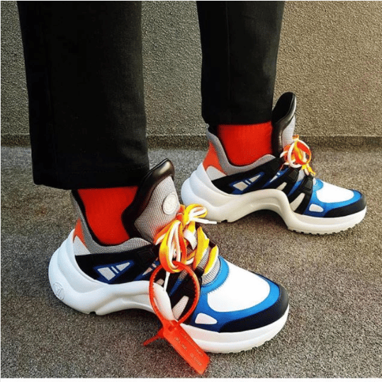 772444a2021 Louis Vuitton Archlight Sneakers From Spring/Summer 2018 | Spotted ...