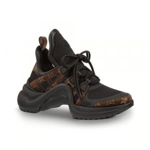 Louis Vuitton Black/Monogram Canvas Archlight Sneakers