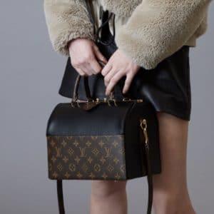 Louis Vuitton Black/Monogram Canvas Speedy Doctor Bag 2 - Pre-Fall 2018