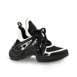Louis Vuitton Black/White Archlight Sneakers