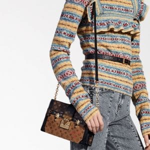 Louis Vuitton Monogram Canvas/Monogram Reverse Petite Malle Bag - Pre-Fall 2018