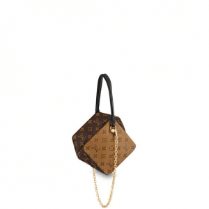 Louis Vuitton Monogram Canvas:Monogram Reverse Square Bag