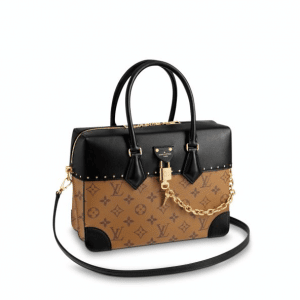 Louis Vuitton Monogram Reverse City Malle MM Bag