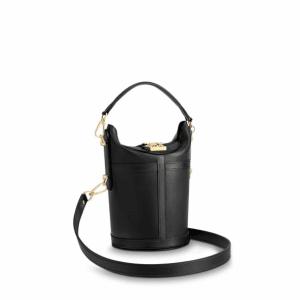 Louis Vuitton Noir Cuir Orfèvre Duffle Bag