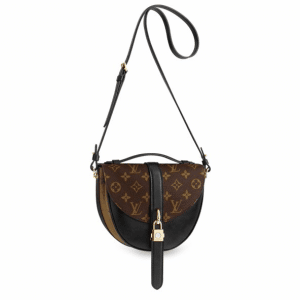 Louis Vuitton Noir Monogram Canvas/Monogram Reverse Chantilly Lock Bag