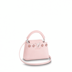 Louis Vuitton Pink Hanami Capucines Mini Bag