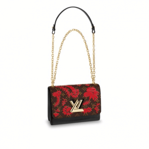 Louis Vuitton Rogue Monogram Blossom Twist MM Bag