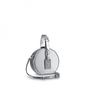 Louis Vuitton Silver Epi Petite Boite Chapeau Bag
