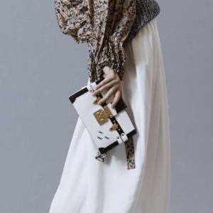 Louis Vuitton White Epi Petite Malle Bag 2 - Pre-Fall 2018