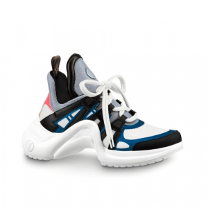 Louis Vuitton White/Blue Archlight Sneakers