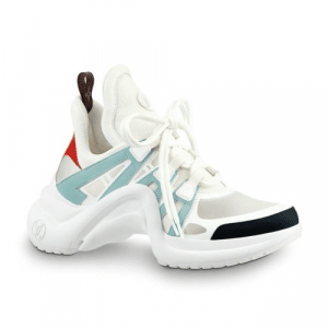 Louis Vuitton White/Light Blue Archlight Sneakers