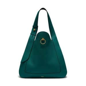 Mulberry Imperial Blue Classic Grainy Calf Marloes Hobo Bag