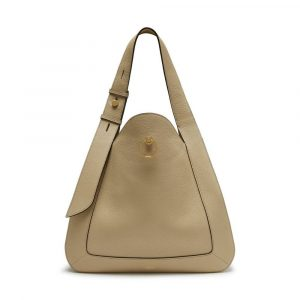 Mulberry Light Dune Classic Grainy Calf Marloes Hobo Bag