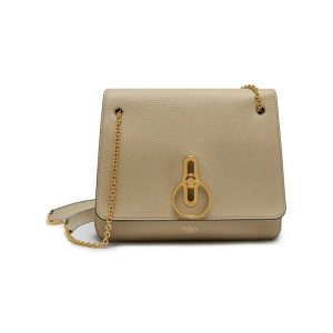 Mulberry Light Dune Classic Grainy Calf Marloes Satchel Bag