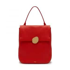 Mulberry Lipstick Red Classic Grainy Calf Kemble Bag