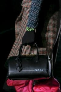 Prada Black Bowling Bag - Fall 2018