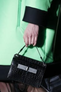 Prada Black Crocodile Mini Bag - Fall 2018