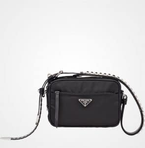 Prada Black Nylon Camera Bag